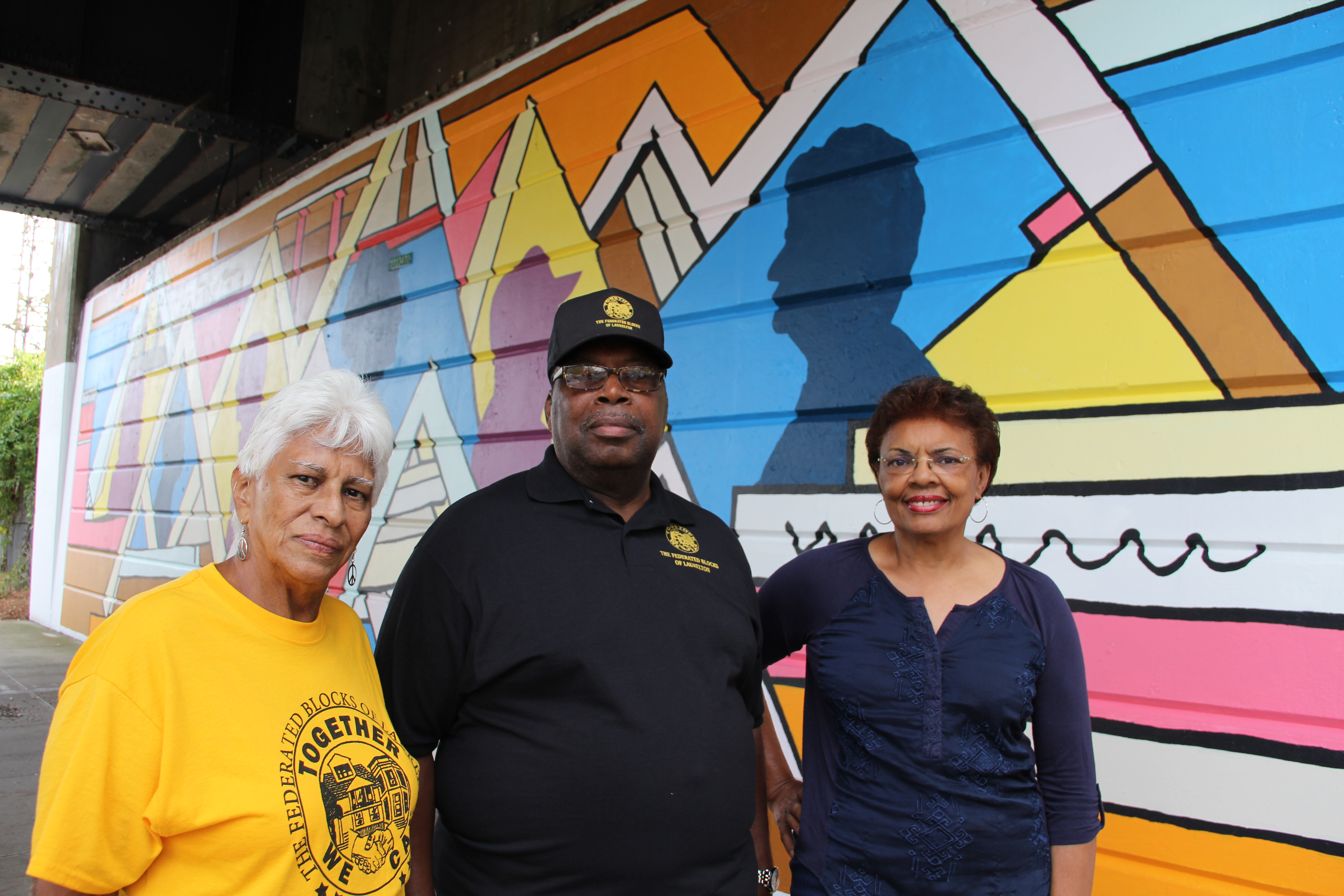 Local Activists of Over 30 Years Are Captured in Mural - laurelton nyc