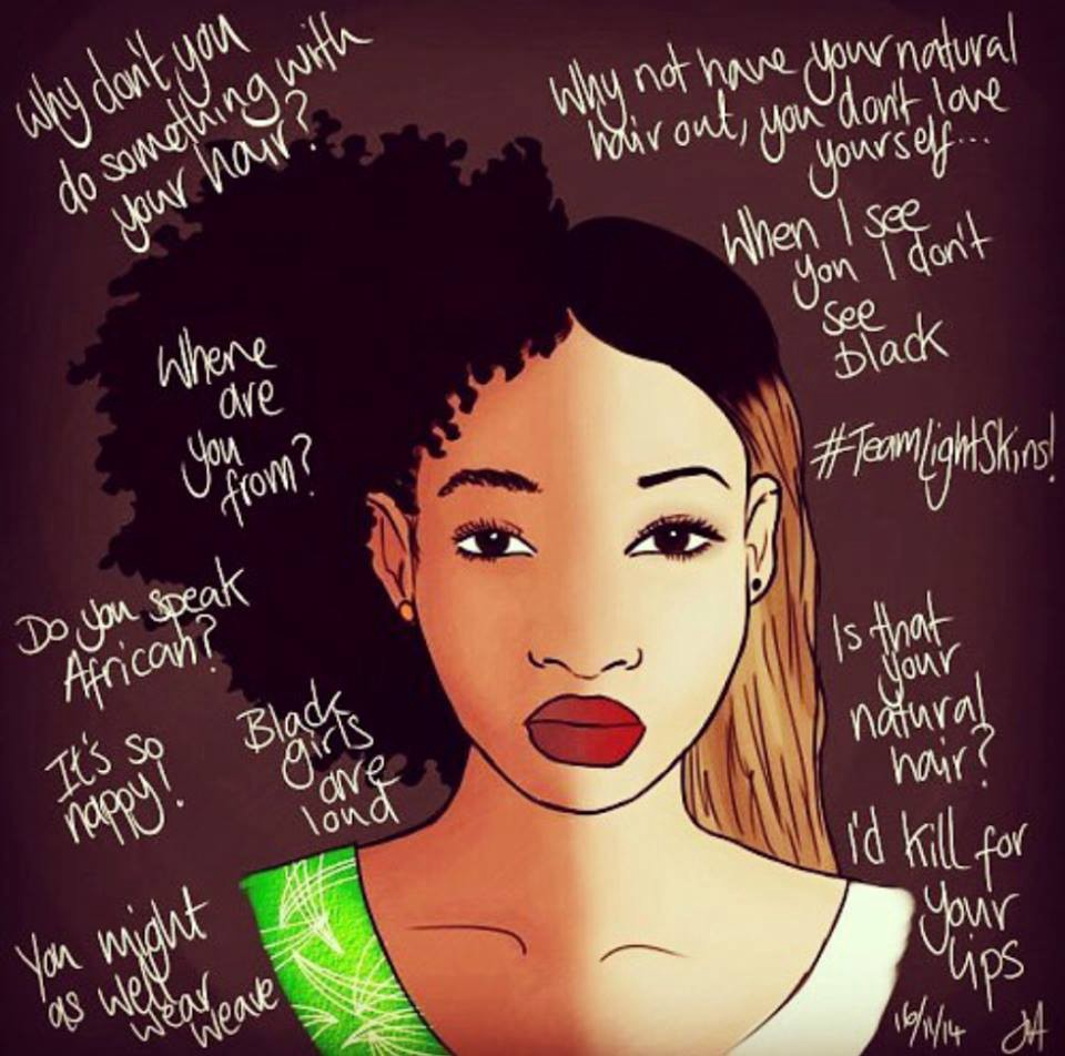 Bleach Away Colorism. By: Madison Hicks-Johnson ...